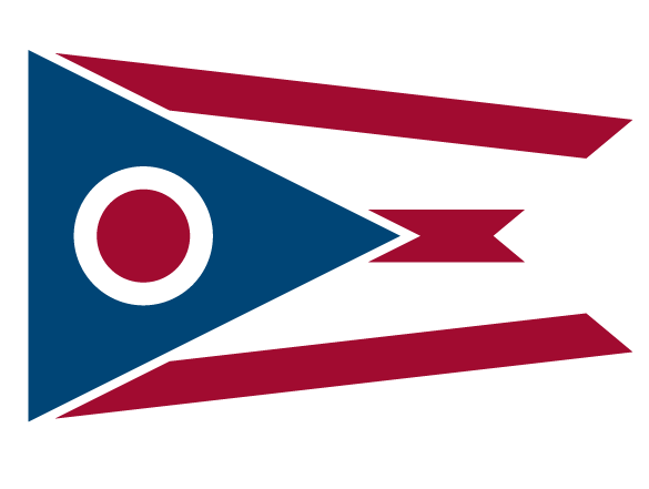Image of the State of Ohio flag